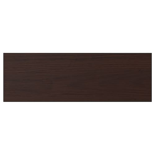 ASKERSUND drawer front dark brown ash effect 59.7 cm 20 cm 60 cm 19.7 cm 1.6 cm