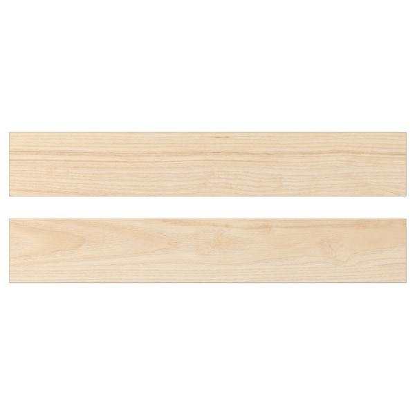 ASKERSUND Drawer front, light ash effect, 60x10 cm