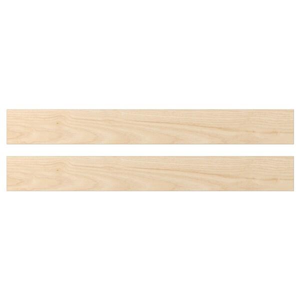 ASKERSUND Drawer front, light ash effect, 80x10 cm