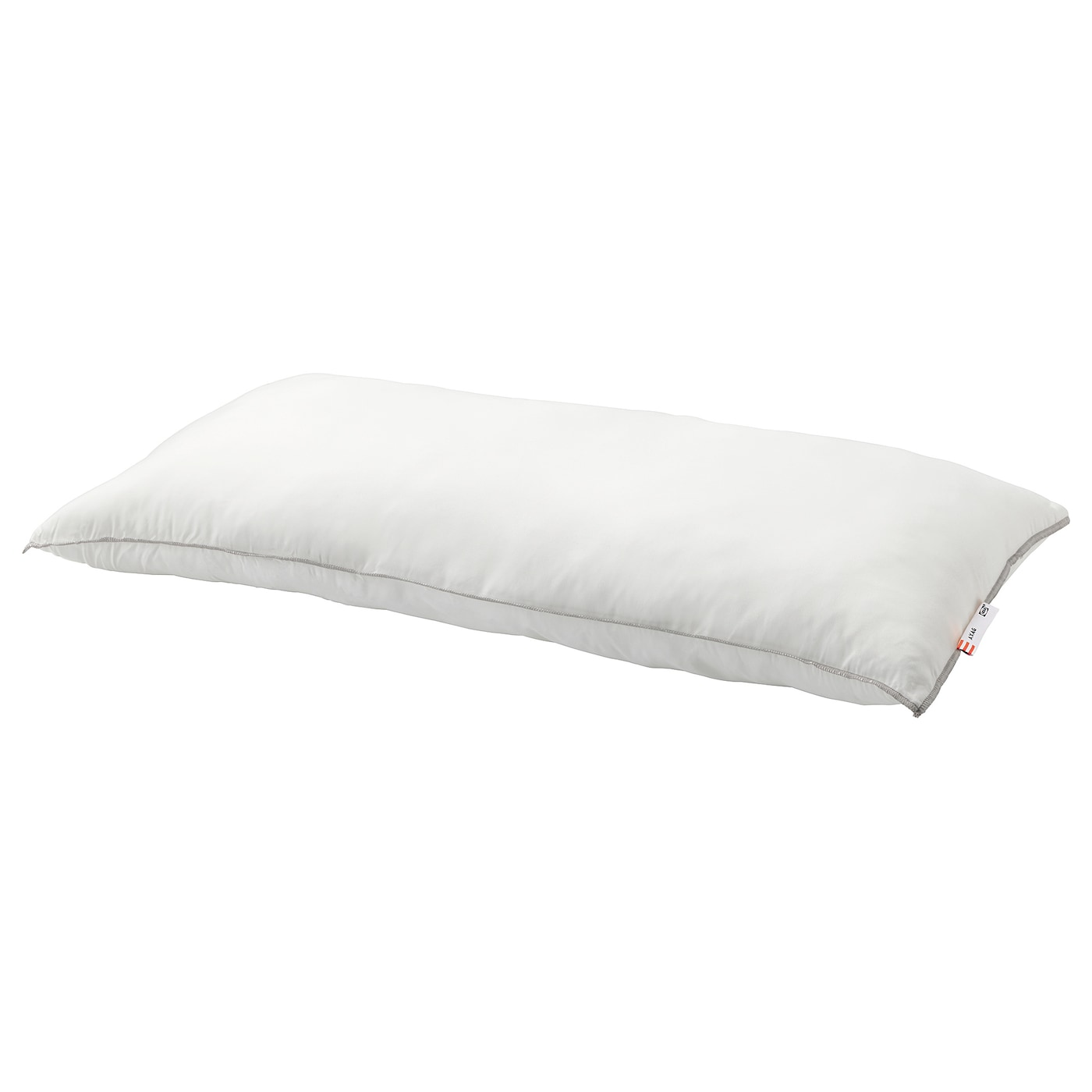 IKEA AXAG pillow, firmer A firm, easy-care pillow in brushed microfibre with a ball fibre filling.