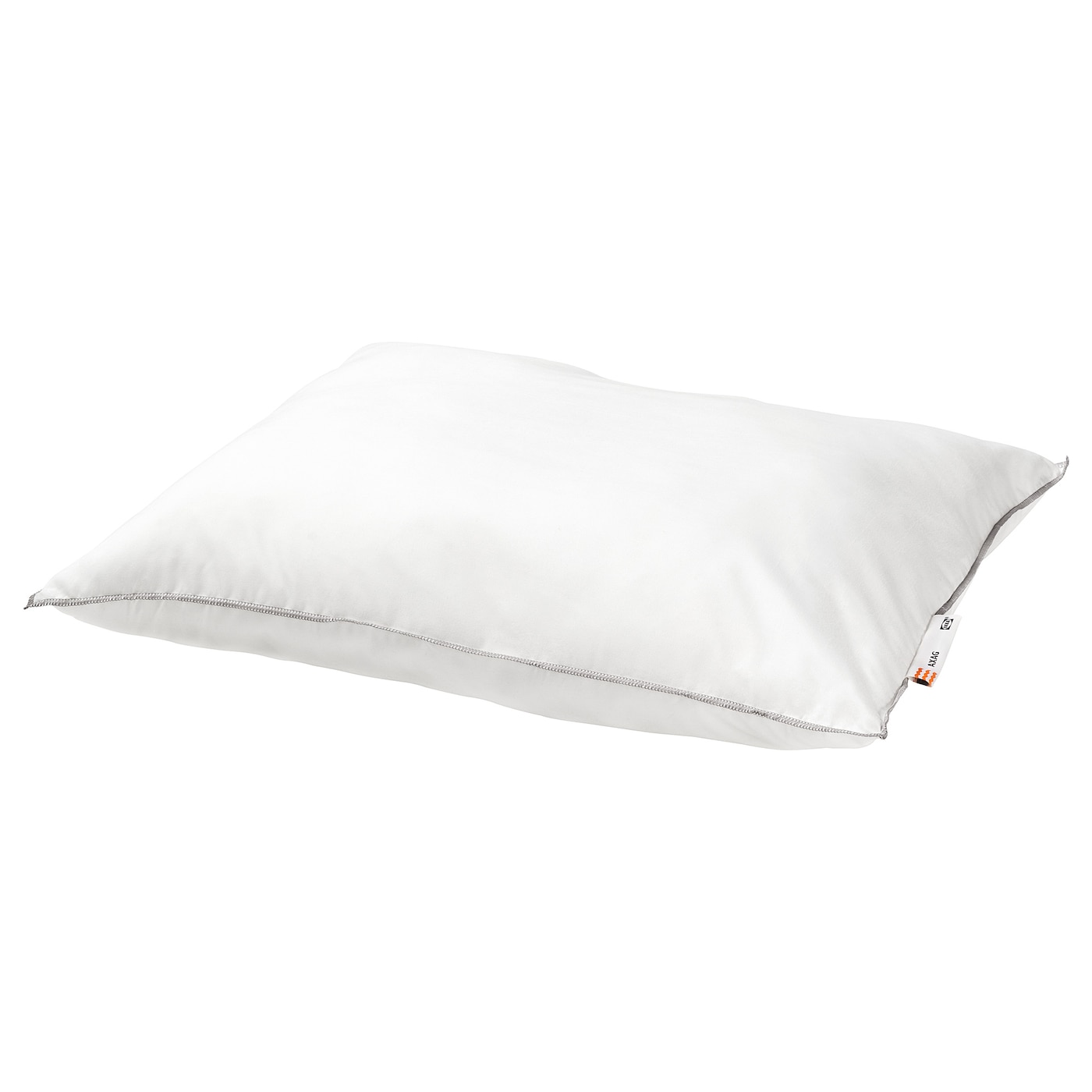 IKEA AXAG pillow, softer A soft, easy-care pillow in brushed microfibre with a ball fibre filling.