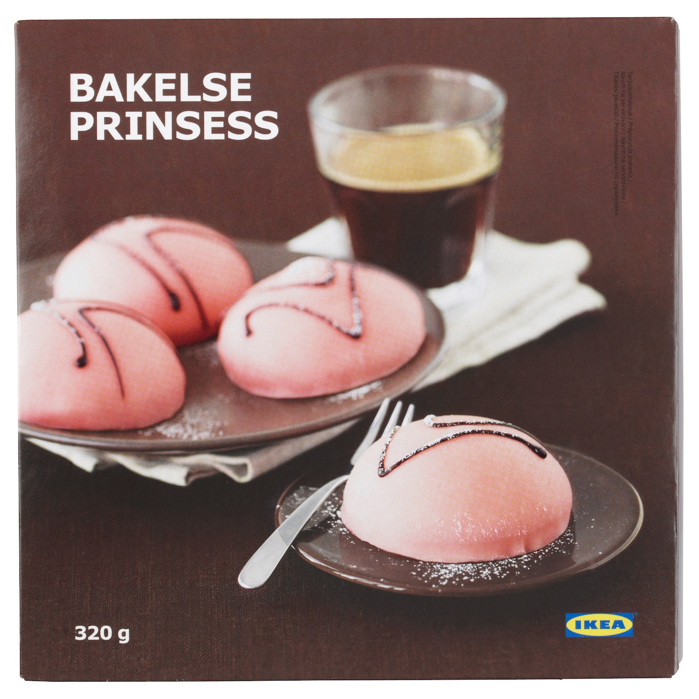 IKEA BAKELSE PRINSESS cream cake with marzipan