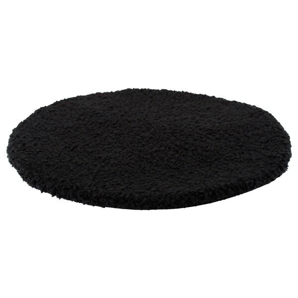 BERTIL chair pad black 33 cm
