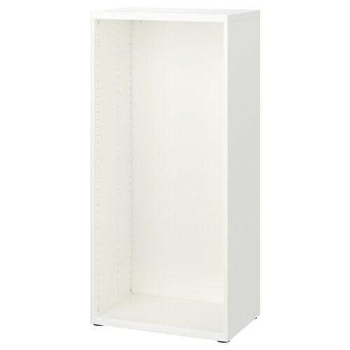 BESTÅ frame white 60 cm 40 cm 128 cm
