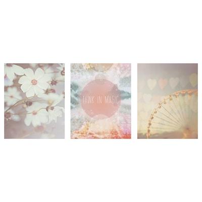 BILD Poster, A pink world, 40x50 cm