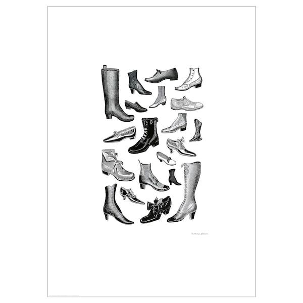 BILD Poster, Fashionable footwear, 50x70 cm
