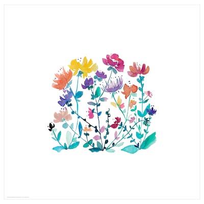 BILD Poster, wild flowers, 50x50 cm