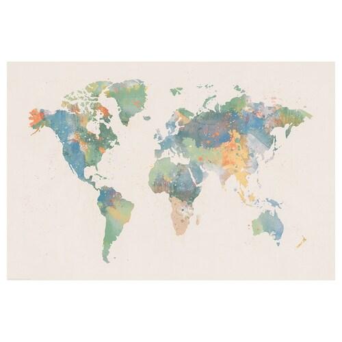 BILD poster World of colours 91 cm 61 cm