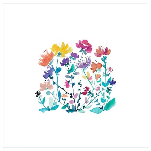 BILD poster wild flowers 50 cm 50 cm