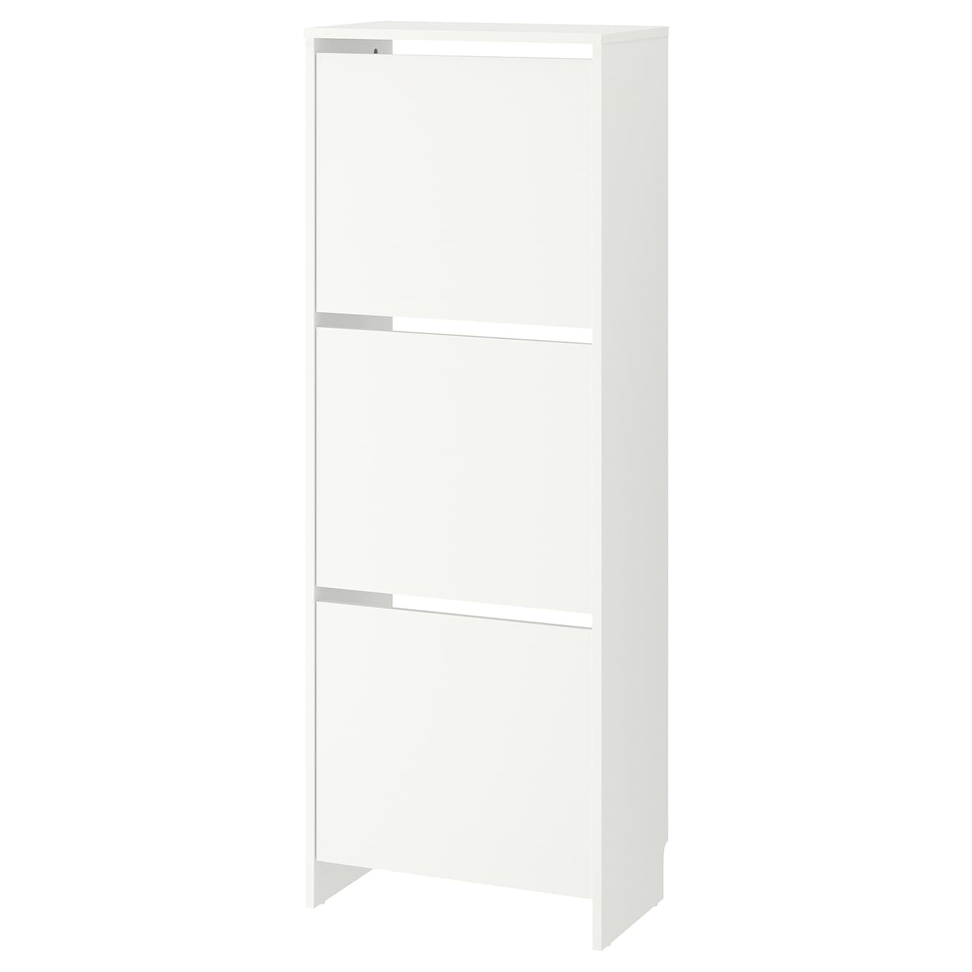 IKEA BISSA shoe cabinet with 3 compartments