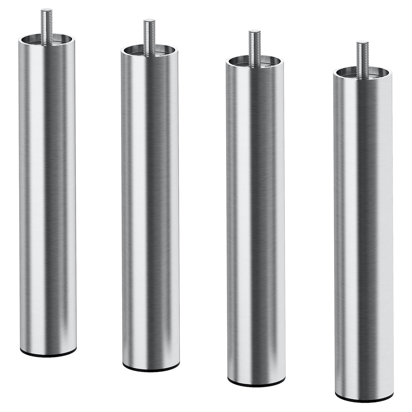 IKEA BJORLI leg Durable and easy to clean as it is made of stainless steel.