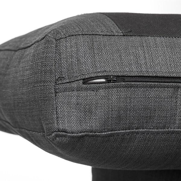 BOLLSTANÄS 3-seat sofa with chaise longue/Skiftebo dark grey 206 cm 140 cm 87 cm 140 cm 174 cm 56 cm 43 cm 87 cm 87 cm 50 cm 140 cm 110 cm 10 cm 16 cm 56 cm