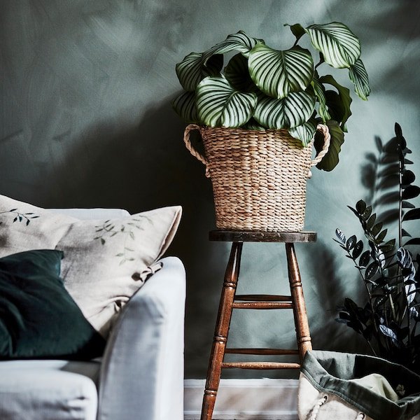 BOTANISK Plant pot, banana fibre handmade, 32 cm