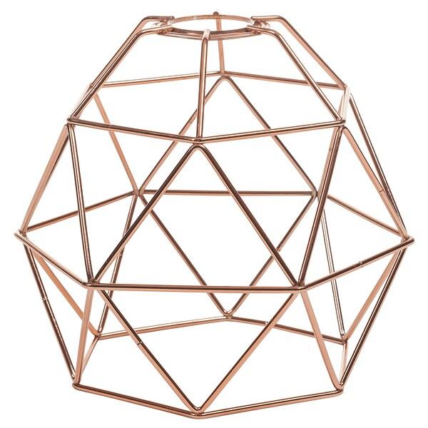 BRUNSTA pendant lamp shade copper-colour 20 cm 20 cm 18 cm 20 cm