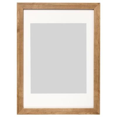 DALSKÄRR Frame, wood effect/light brown, 50x70 cm
