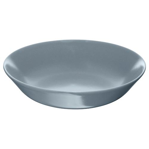 DINERA deep plate grey-blue 22 cm