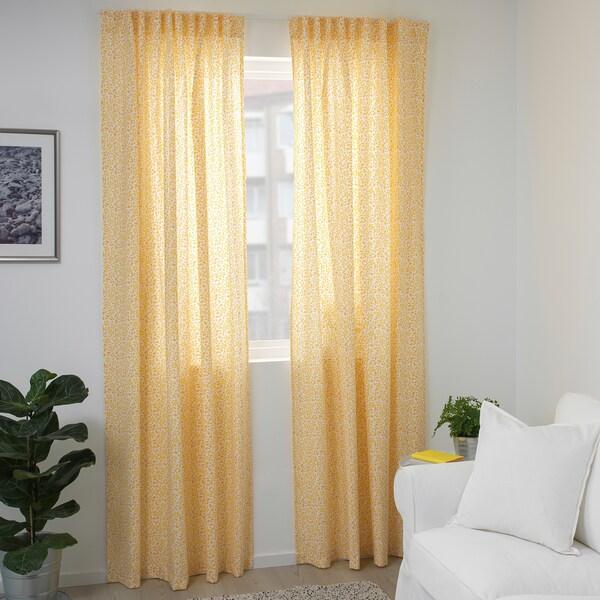 IKEA DORTHEA Curtains, 1 pair