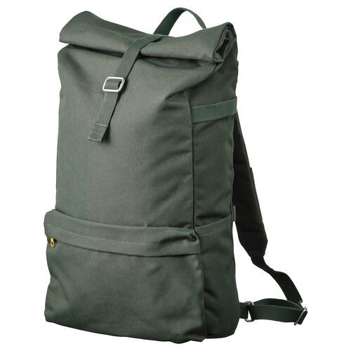 DRÖMSÄCK backpack olive-green 21 l