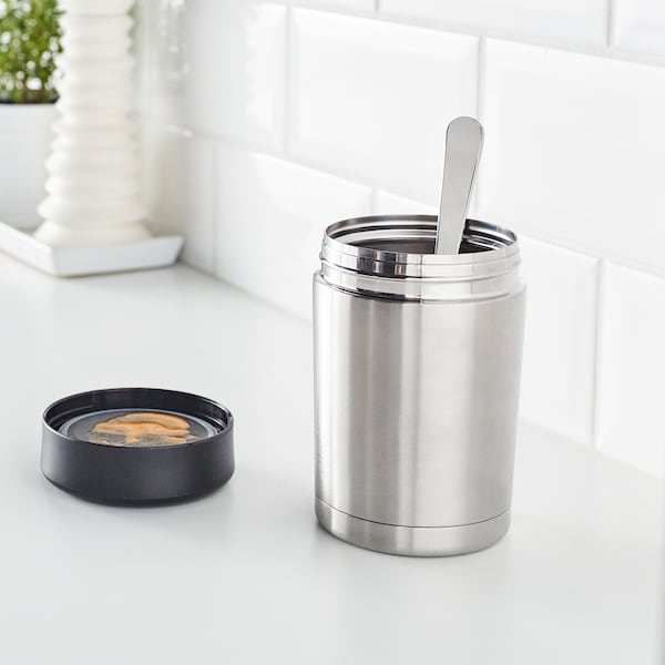 EFTERFRÅGAD Food vacuum flask stainless steel IKEA