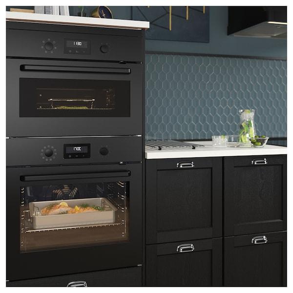 EFTERSMAK forced air oven black 59.4 cm 56.7 cm 58.9 cm 1.5 m 36.00 kg