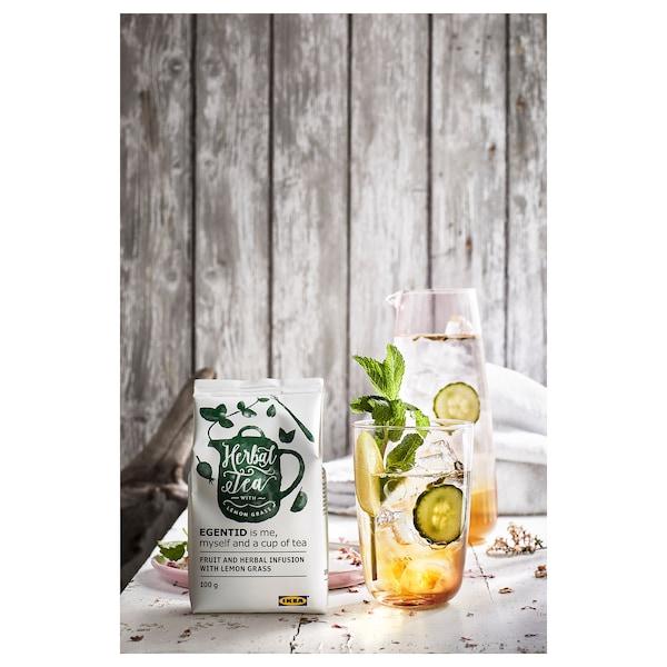 EGENTID Fruit and herbal infusion, lemon grass/UTZ certified, 100 g
