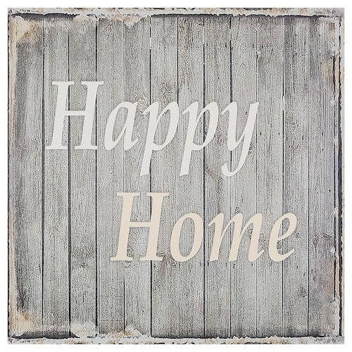 EGERSTA Picture Happy home 56x56 cm