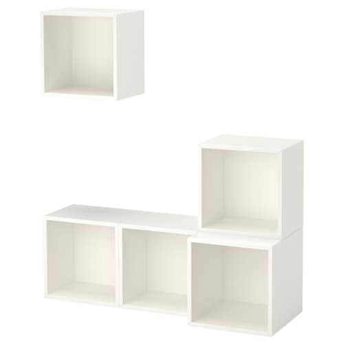 EKET wall-mounted cabinet combination white 105 cm 35 cm 120 cm