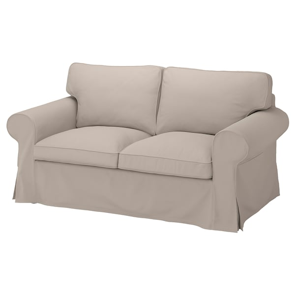 EKTORP Cover for 2 seat sofa Totebo light beige
