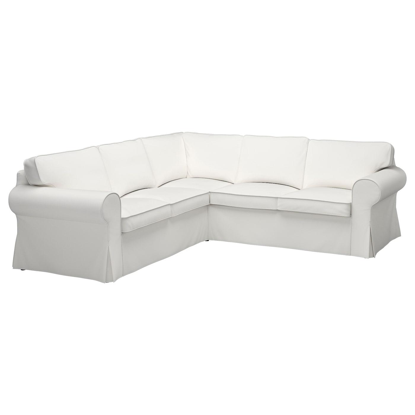 Corner Sofa 4 Seat Vittaryd White