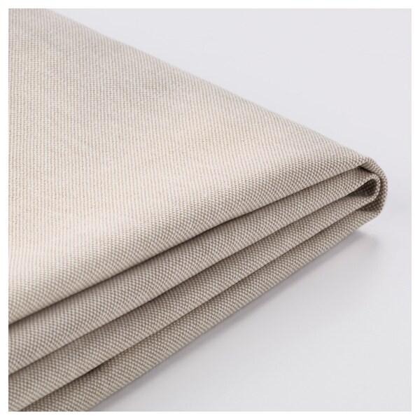 EKTORP cover for corner sofa, 4-seat Lofallet beige