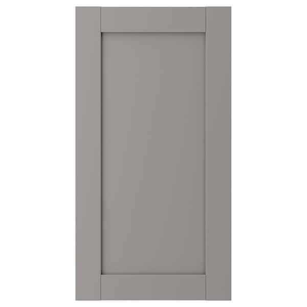 ENHET Door, grey frame, 40x75 cm