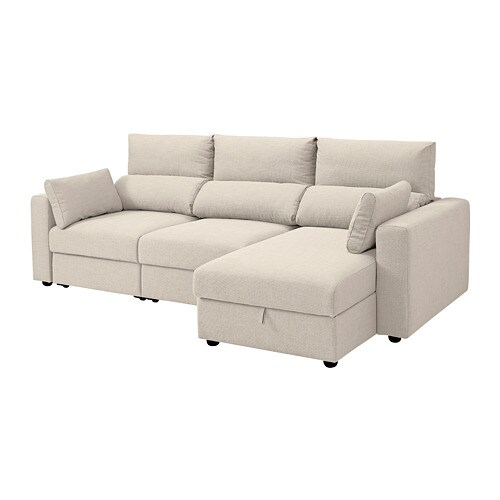 IKEA ESKILSTUNA 3 Seat Sofa Readily Converts Into A Bed