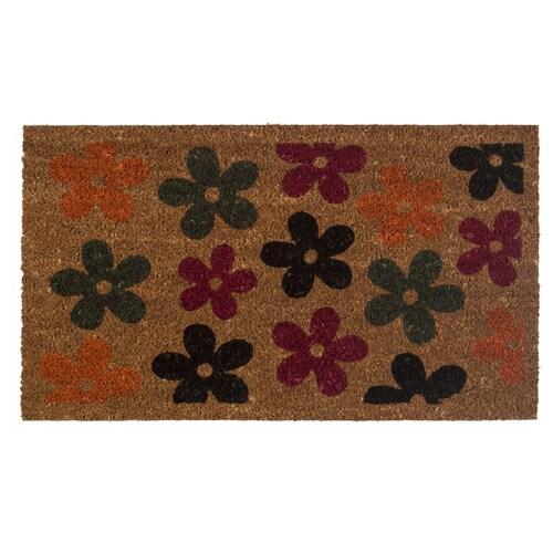 ESRUM Door mat, multicolour, 40x70 cm