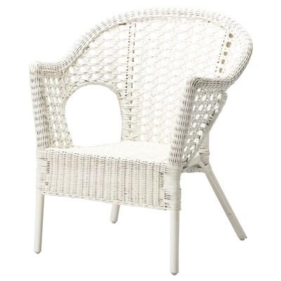 FINNTORP Armchair, white