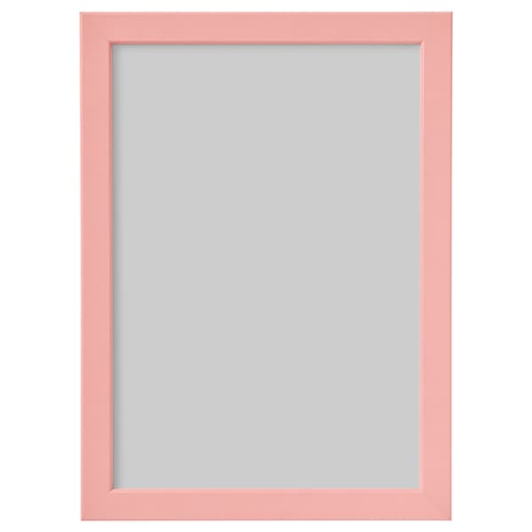 FISKBO frame light pink 21 cm 30 cm 24 cm 33 cm