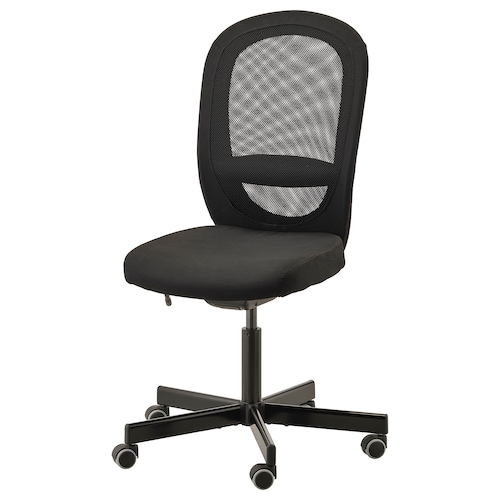FLINTAN office chair Vissle black 110 kg 74 cm 69 cm 102 cm 114 cm 47 cm 48 cm 47 cm 60 cm