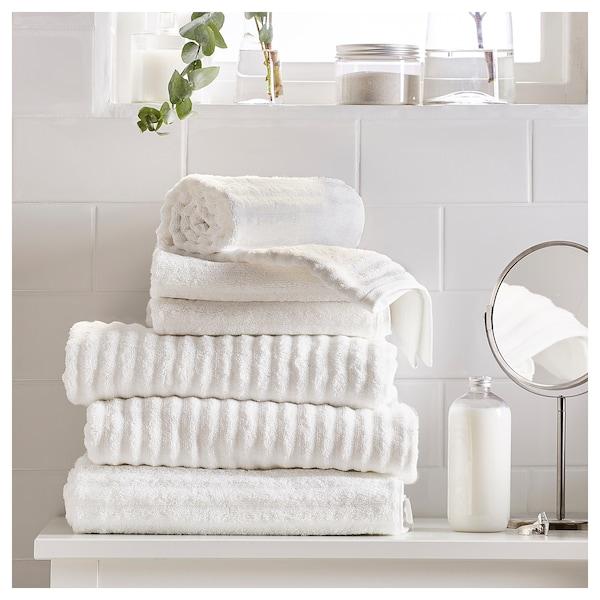 FLODALEN Hand towel, white, 50x100 cm