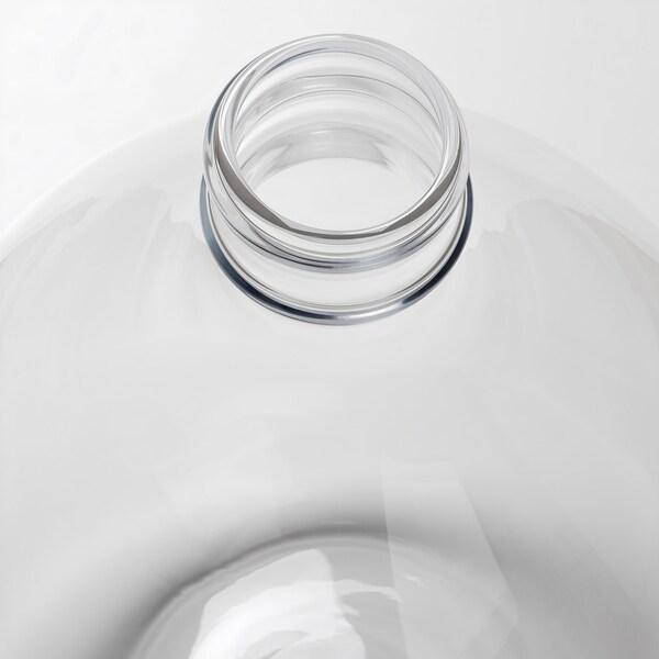 FRAMPRESSA Vase, clear glass, 40 cm