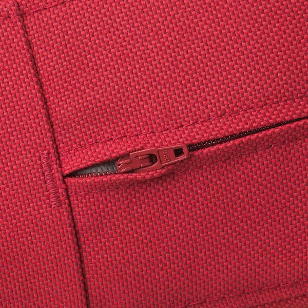 FRÖSÖN/DUVHOLMEN back cushion, outdoor red 44 cm 62 cm 14 cm
