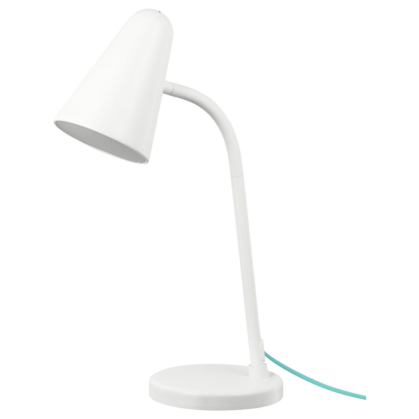 IKEA FUBBLA LED work lamp Safety tested and tamper-proof to protect little fingers.