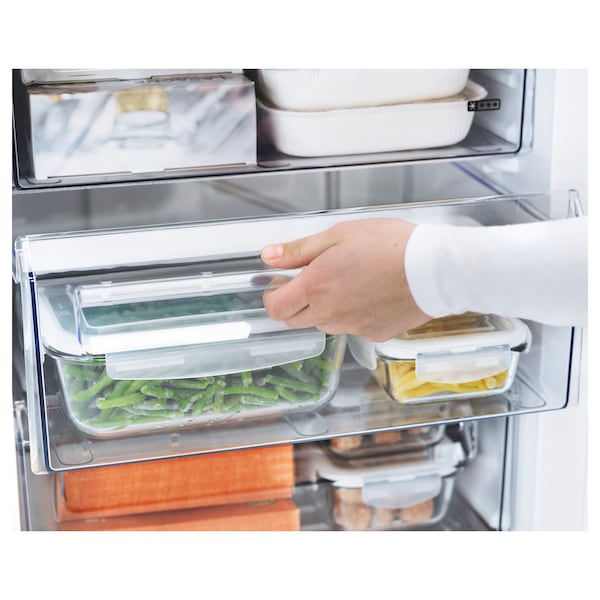 GENOMFRYSA integrated freezer A+ white 59.7 cm 54.5 cm 81.9 cm 245 cm 91 l 35.20 kg