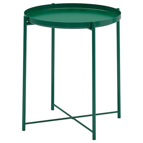 GLADOM tray table green 53 cm 45 cm