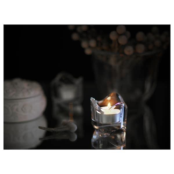 GLIMMA Unscented tealight, 6 hr