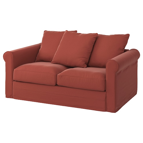 GRÖNLID 2-seat sofa Ljungen light red 104 cm 177 cm 98 cm 7 cm 18 cm 68 cm 141 cm 60 cm 49 cm