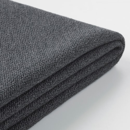 GRÖNLID cover for 3-seat sofa-bed with open end/Sporda dark grey