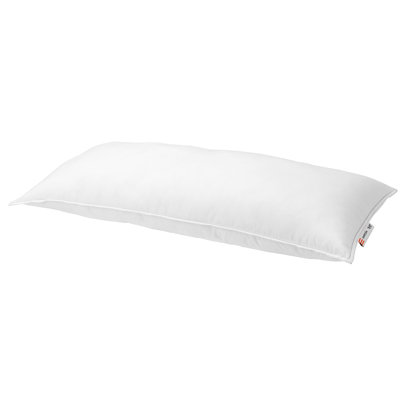 IKEA HAMPDÅN pillow, firmer The ball fibre filling is pliable, airy and easy to fluff.