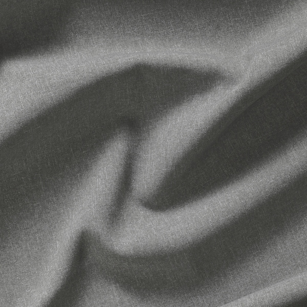 HANNALENA Room darkening curtains, 1 pair, grey, 145x300 cm