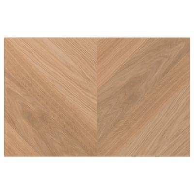 HEDEVIKEN Door/drawer front, oak veneer, 60x38 cm