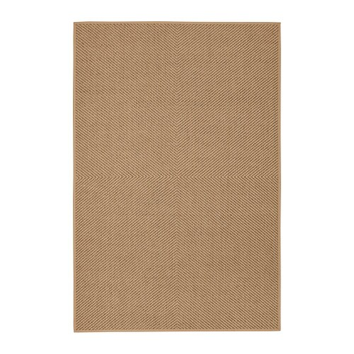 Hellested Rug Flatwoven Natural Brown 200 X 300 Cm Ikea