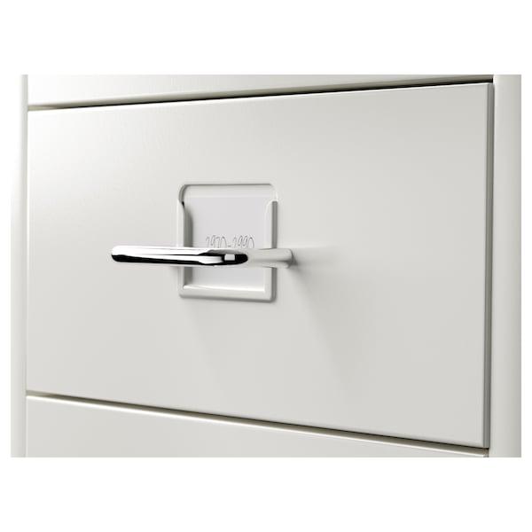 HELMER Drawer unit on castors, white, 28x69 cm